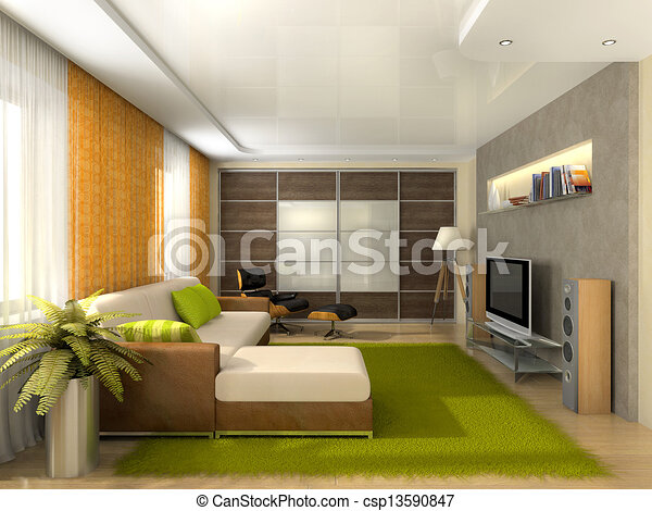 Photo salle s jour moderne appartement image images for Photo sejour moderne