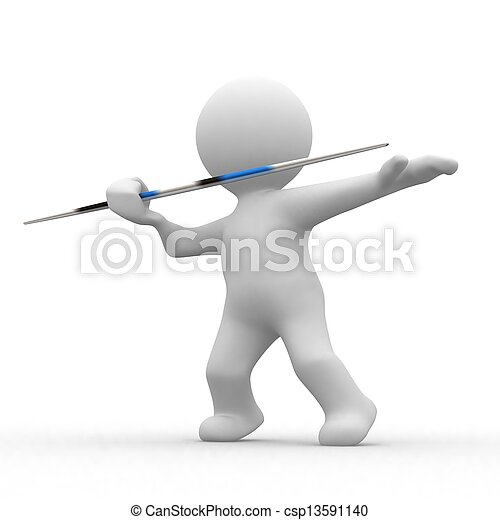 3d javelin - csp13591140