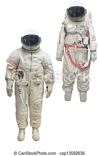 stock fotos von raumanzug astronaut astronaut in a raumanzug unter csp13592636. Black Bedroom Furniture Sets. Home Design Ideas