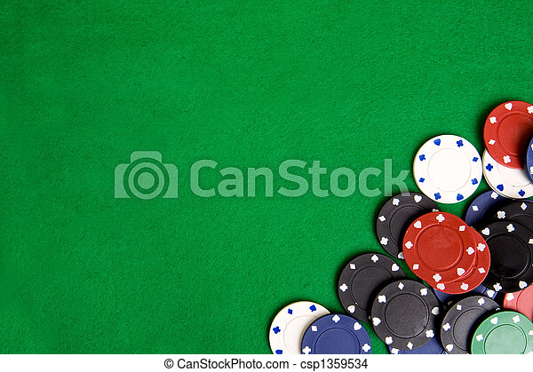 Casino Chip Background - csp1359534