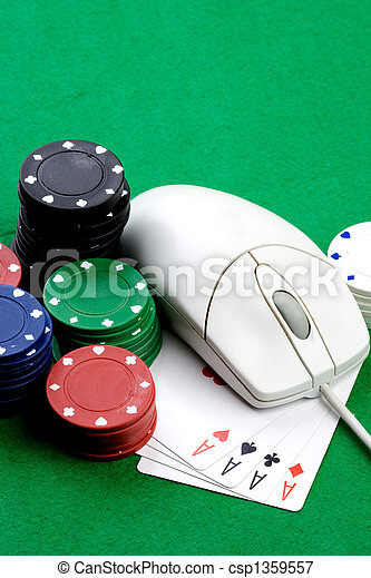 Online Gambling Concept - csp1359557