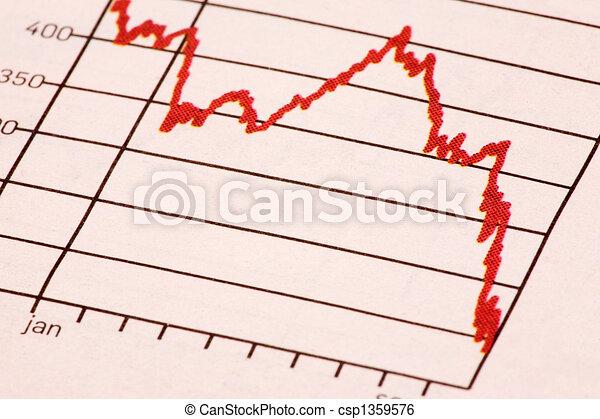Stock Market Trend - csp1359576