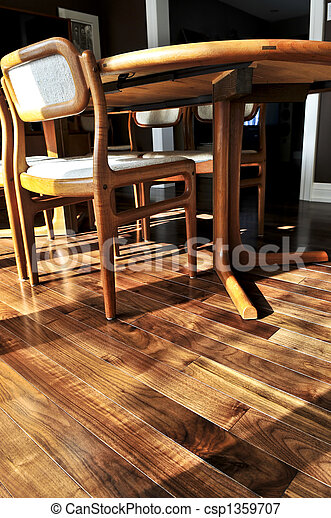 Hardwood floor - csp1359707