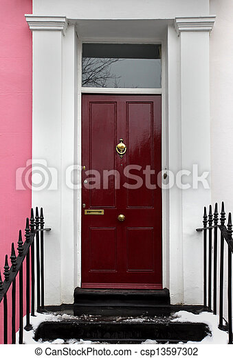 Residential door - csp13597302