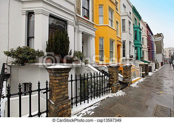 Street residential - csp13597349