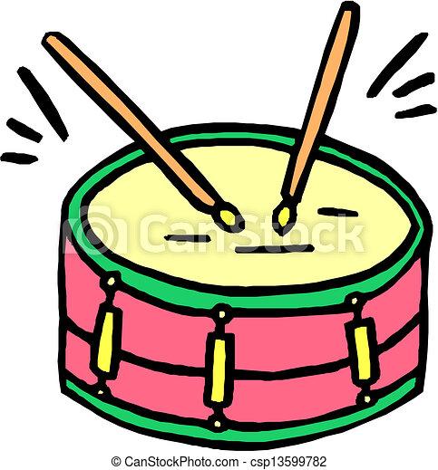 Vector de tambor, Palillos csp13599782 - Buscar Clipart ...