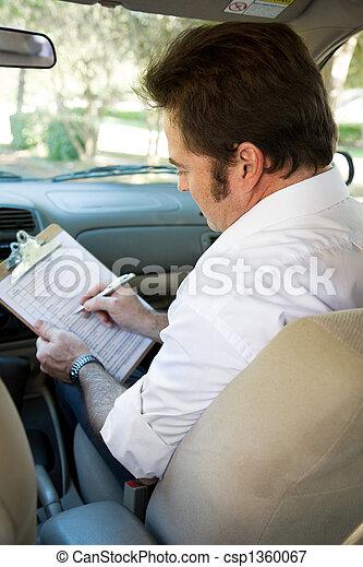 Driving Test Checklist - csp1360067