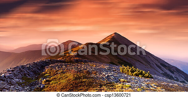 Mountains - csp13600721