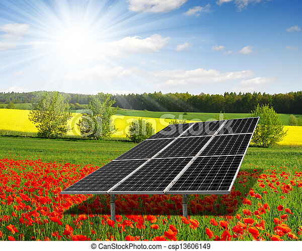 solar energy panels - csp13606149