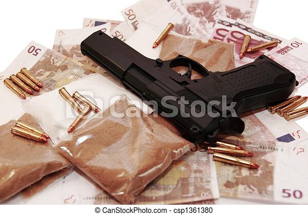 drug money 13 - csp1361380