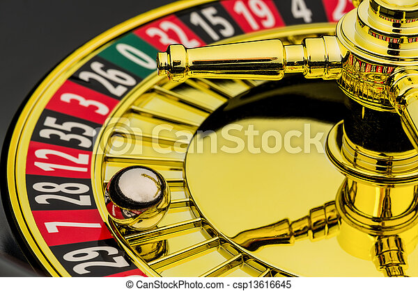 roulette casino gambling - csp13616645