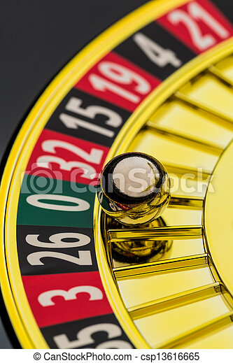 roulette casino gambling - csp13616665