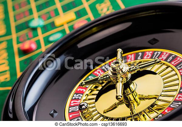 roulette casino gambling - csp13616693