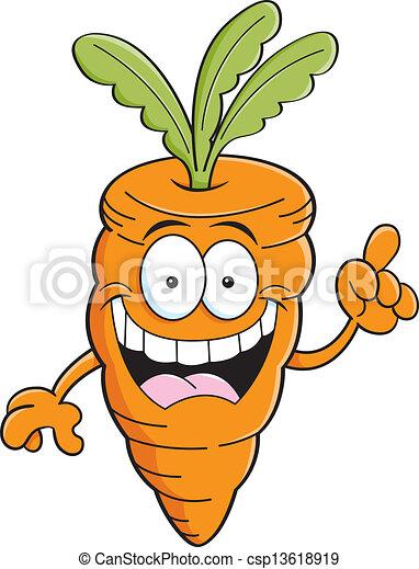 Clip art vecteur de carotte id e dessin anim dessin - Dessin de carotte ...