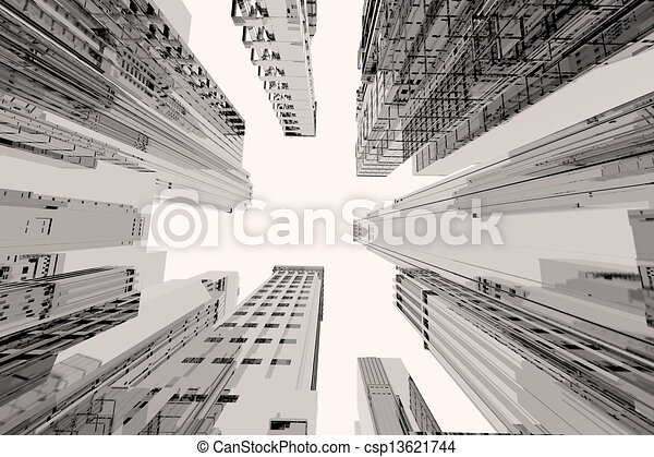Tall Buildings Drawings Tall Buildings Drawing