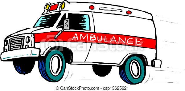 Ambulance Car Drawing Ambulance Car Csp13625621