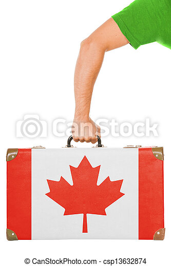 The Canadian flag - csp13632874