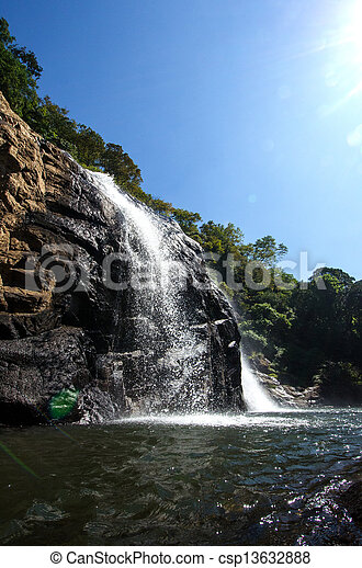 waterfall - csp13632888