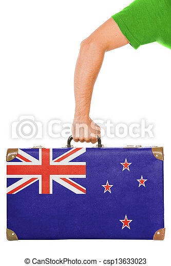 The New Zealand flag - csp13633023