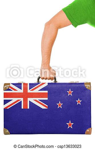 The New Zealand flag - csp13633023