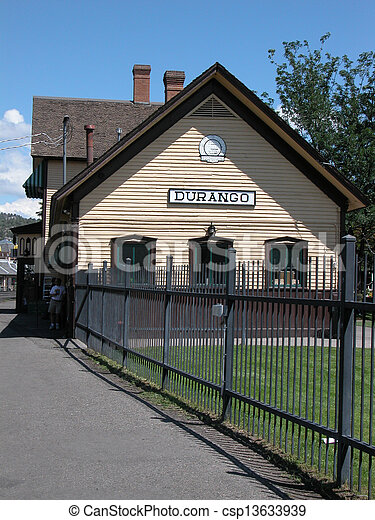 stock photos of durango train depot this train depot is located in csp13633939 search. Black Bedroom Furniture Sets. Home Design Ideas