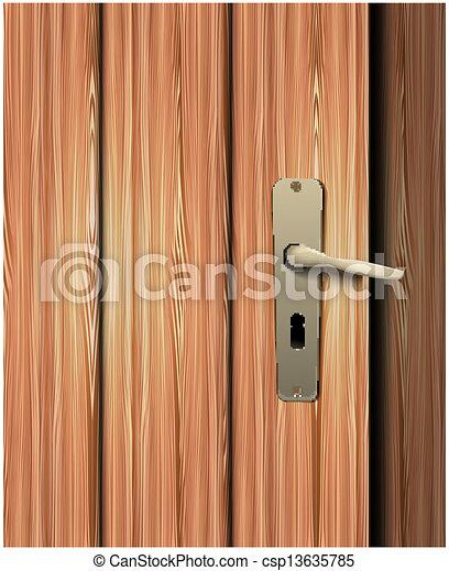 Vector of door handle csp13635785 search clip art - Door handle clipart ...