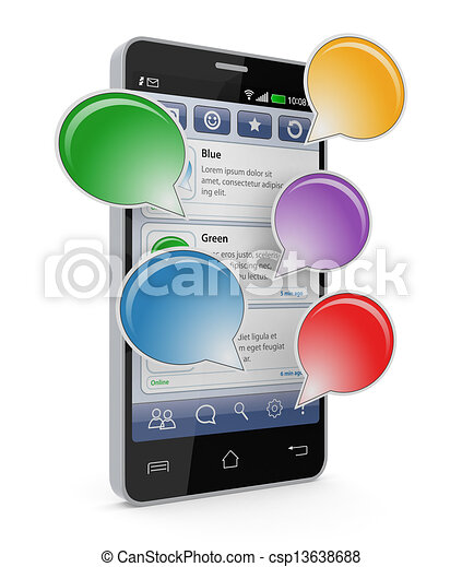 mobile communications - csp13638688
