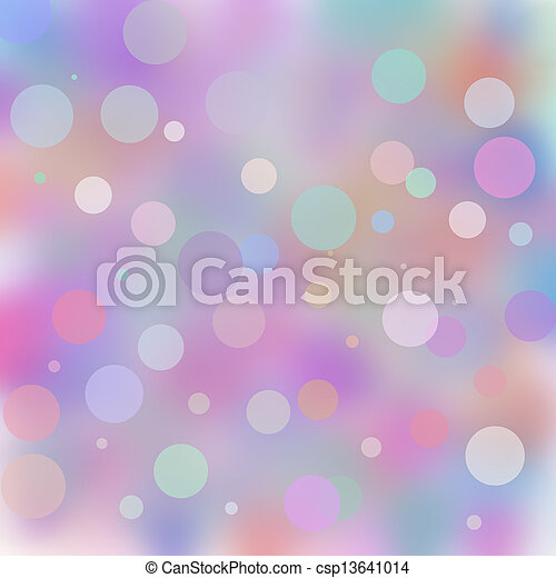 Abstract background bokeh  - csp13641014
