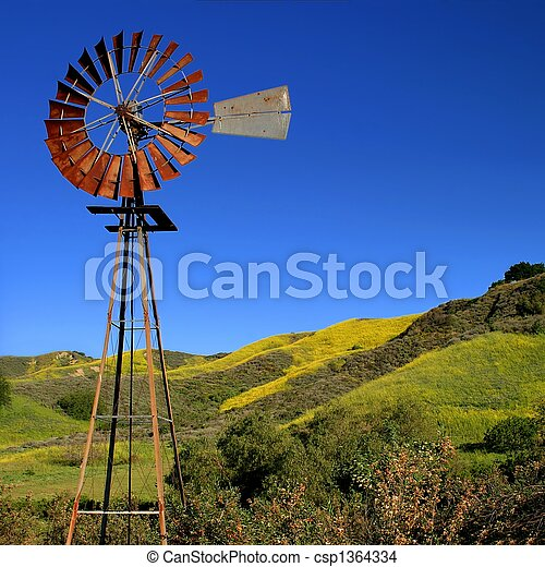 Windmill - csp1364334