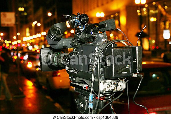 Video camera - csp1364836