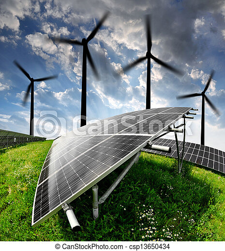 energy concepts - csp13650434