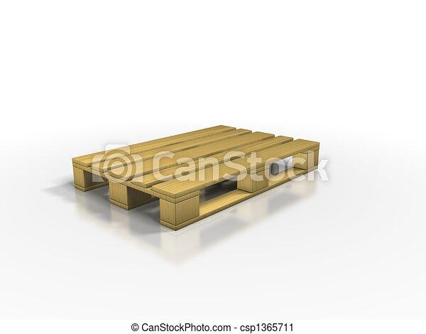 europe-pallets - csp1365711