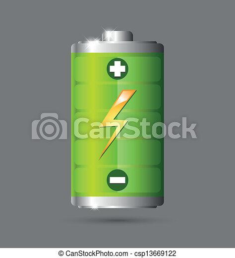 Battery icon - csp13669122