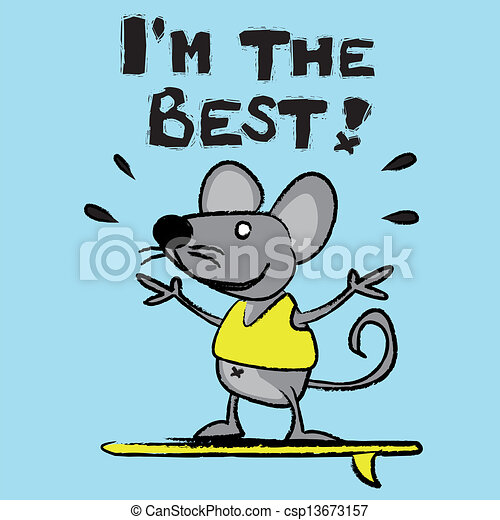 Clipart Vector of Mouse, rat, field mouse, better, king, character ...