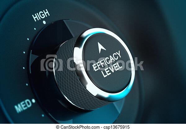High Self Efficacy High Self Efficacy Level