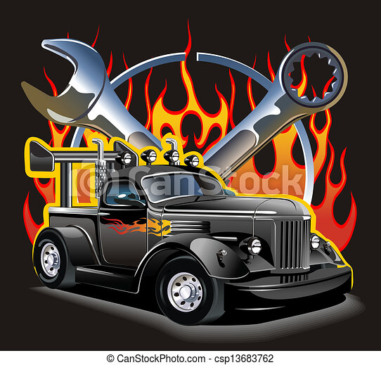 Hotrod Stock Illustrations. 284 Hotrod clip art images and royalty ...