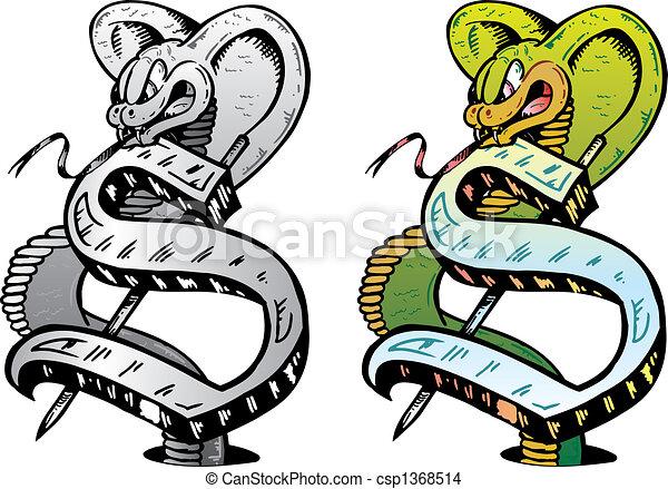 K Letter In Style main, dessiné, tatouage, Style, lettre, s, à, pertinent, Symboles ...