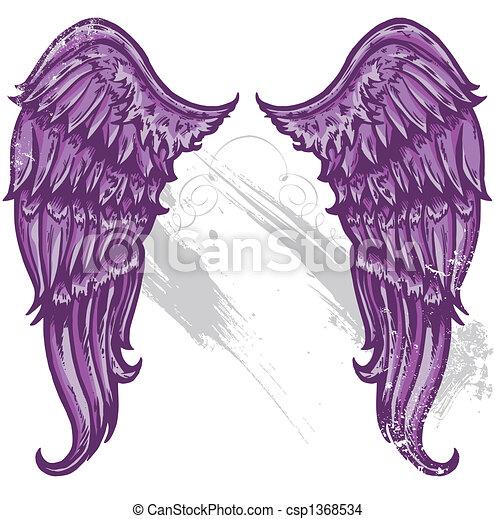 Hand drawn tattoo style w - csp1368534