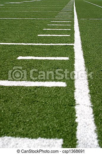 Football Lines - csp1368691