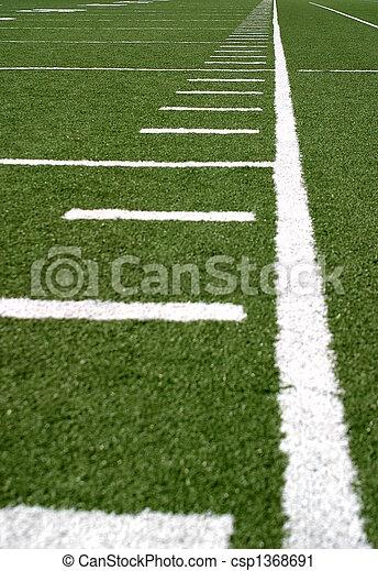 Football Lines - csp1368691