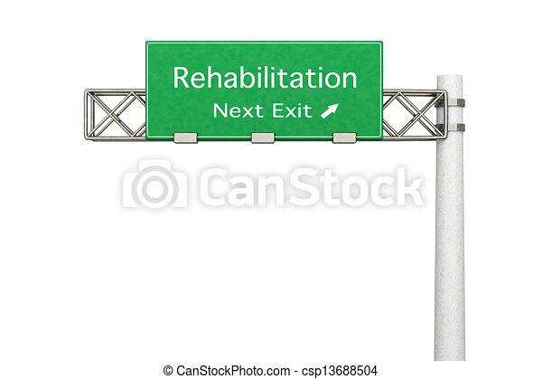 Highway Sign - Rehabilitation	 - csp13688504