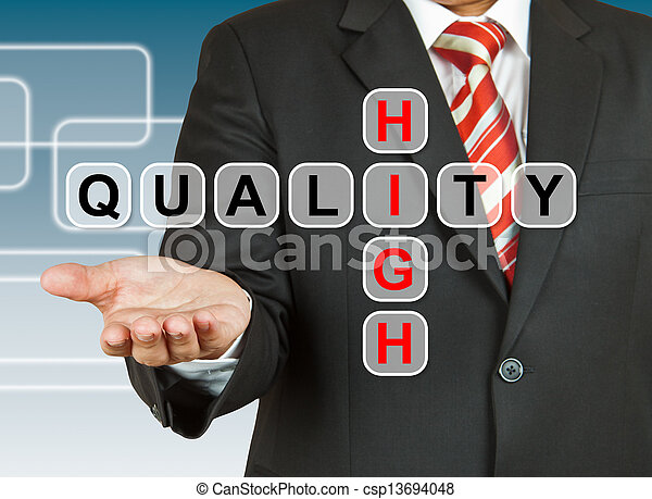 Businessman hand drawing High Quality