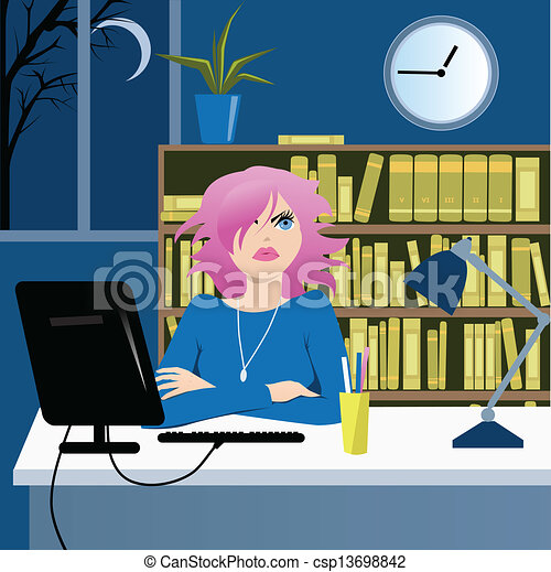Long Working Hours Cute