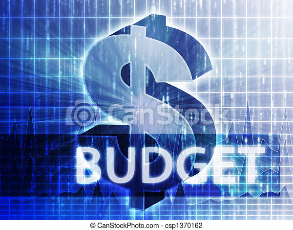 Budget Finance illustration - csp1370162
