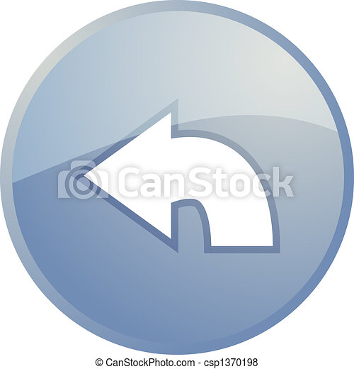 Return navigation icon - csp1370198