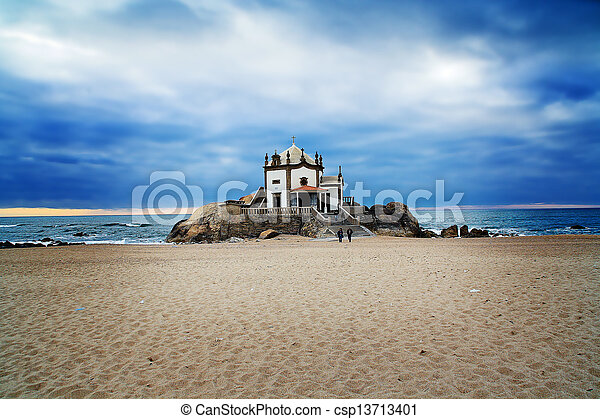 Church on the beach - csp13713401