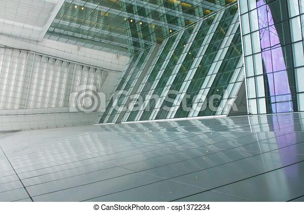 A Futuristic Office Architecture - csp1372234