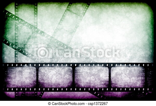 Movie Industry Highlight Reels - csp1372267