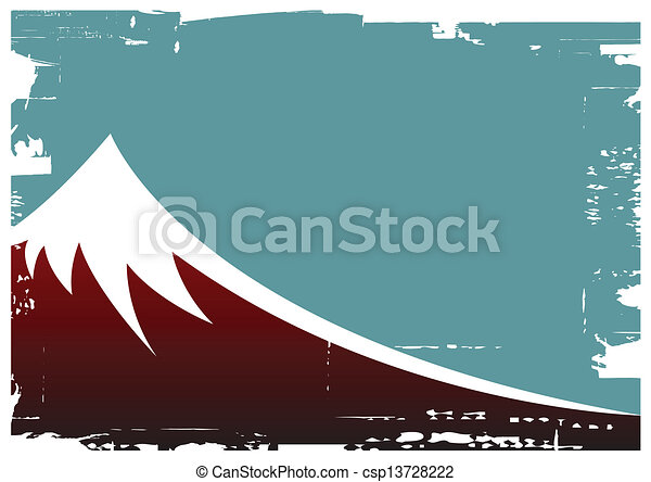 fuji mountain - csp13728222