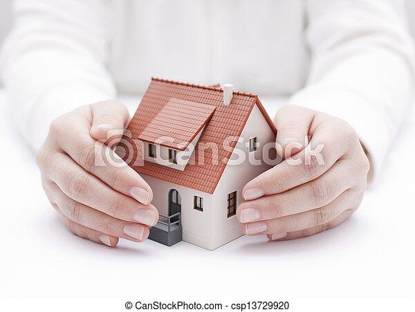 House insurance - csp13729920
